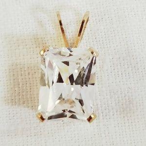 Brilliant Radiant Simulated Diamond NWOT